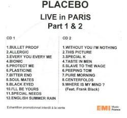 Placebo - English Summer Rain