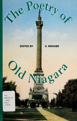 Cover of: The poetry of old Niagara | edited by Kevin McCabe.